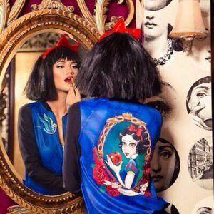 Black Milk Disney Snow White GF Bomber Jacket L
